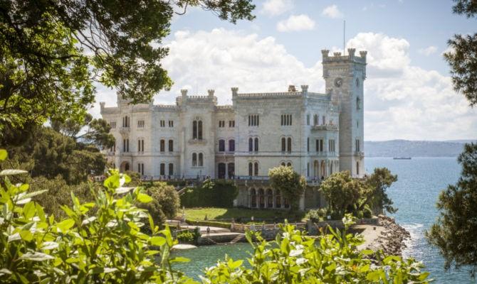 TRIESTE, Castello di Miramare & LUBJANA